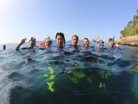 Snorkel en el interior del Mediterraneo