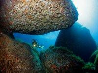 Cueva submarina en Dragonera