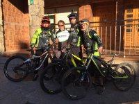 equipo con bicis