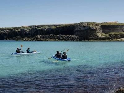 Ruta en kayak en la Isla de Las Palomas
