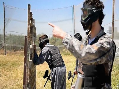 Bachelor party with paintball in Granada