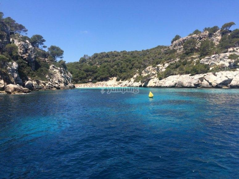 Zona despejada del Mar Balear