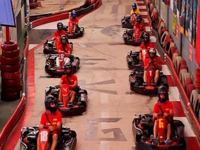 Farewell karting competition in Granada