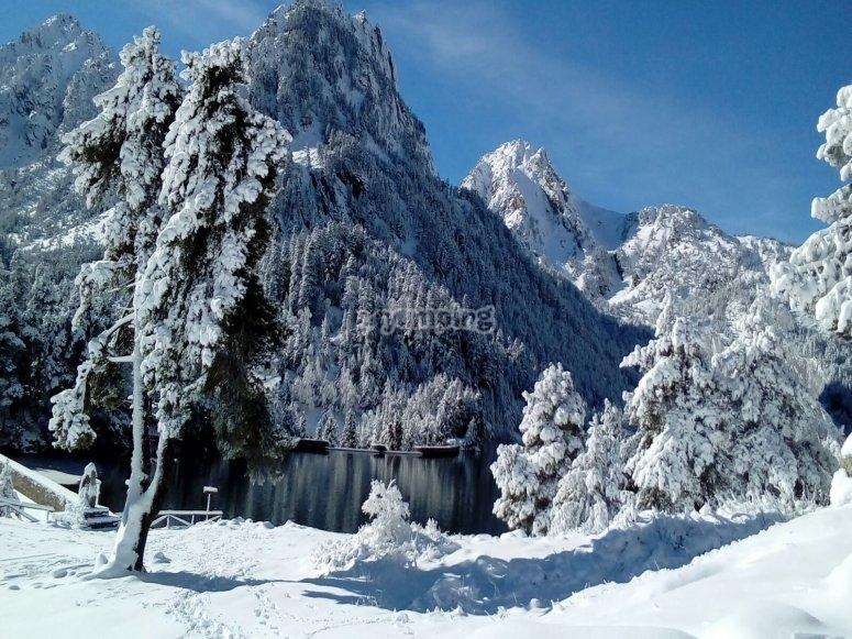 Aigüestortes nevado