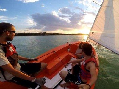 Alquiler de velero en La Estanca por una hora
