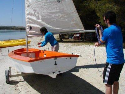 Alquiler de velero por 30 minutos en La Estanca