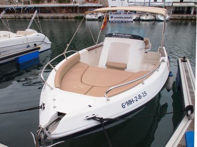 Aquamar 615 boat rental in Menorca, up to 8 people
