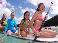 lezioni di paddle surf