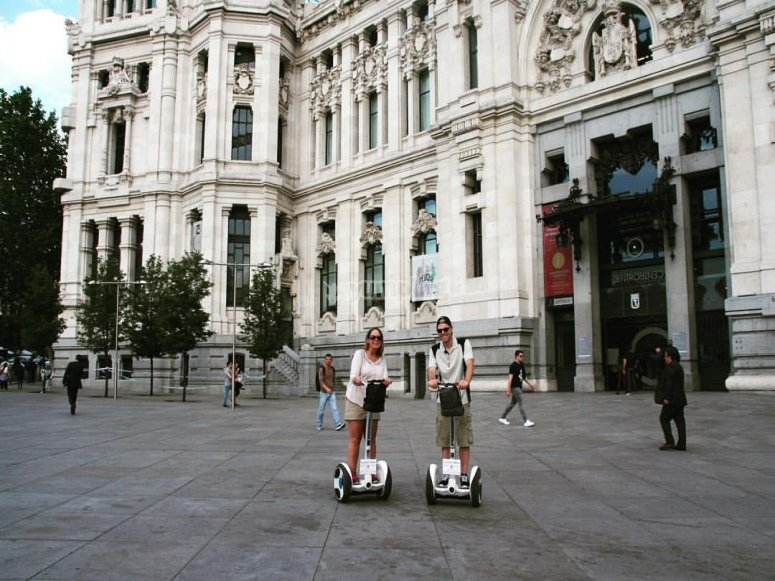 Segway tour in Madrid