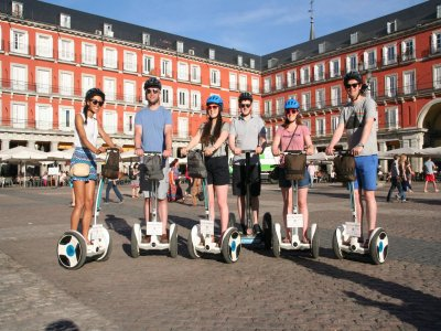 Segway tour on Madrid's city centre for 1 hour