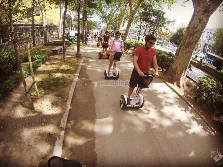 Ride in Madrid