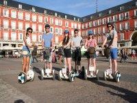Travesia en Segway por el Retiro y por Madrid