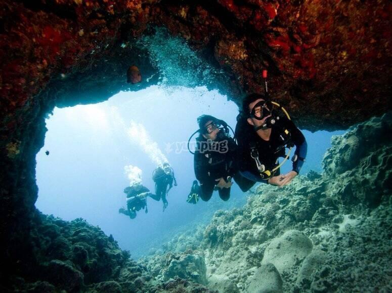 Inmersión en aguas abiertas