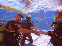 bautismo en la piscina