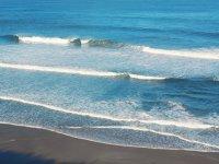 巴斯克地区的水--999-海滩上的日落