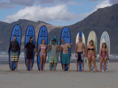 Lezioni di surf per tutti i livelli a Lanzarote