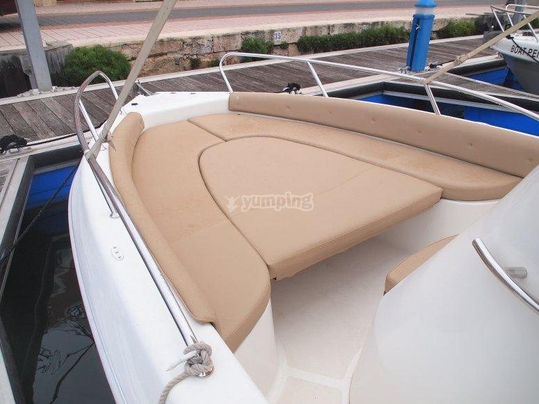paseo en barco Aquamar