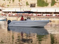 embarcación en Menorca