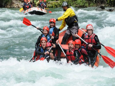 Canyoning and rafting Pyrenees in Lleida