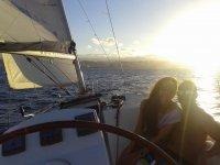 Ruta romántica en barco en Las Palmas