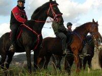 Equestrian trio