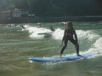 Tavola da surf blu