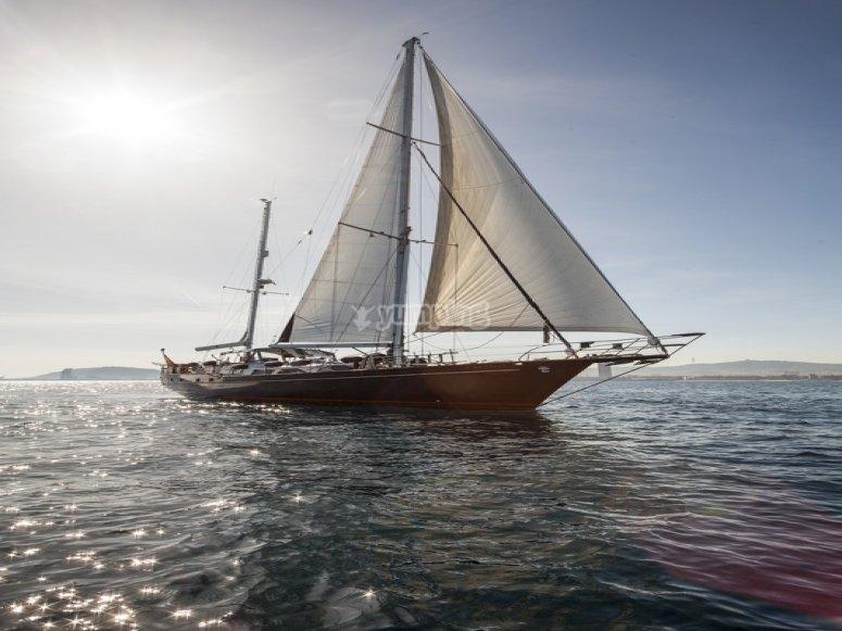 Vista del velero