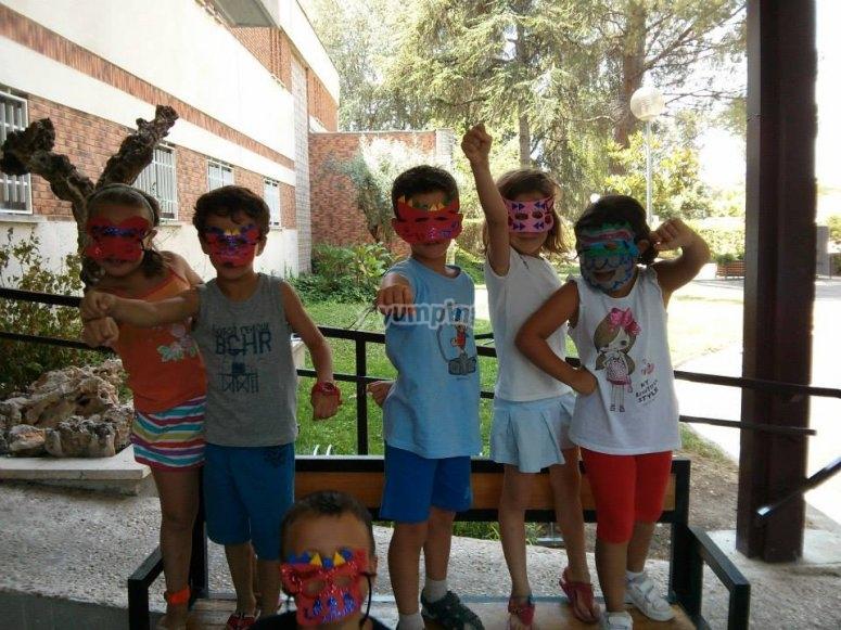 Studenti del campo di Madrid