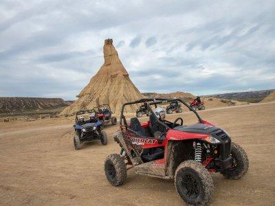 Hacer ruta en buggy desierto Bardenas Reales 5h