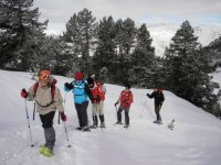 Snowshoes in the Pyrenees