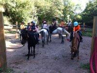 Rutas infantiles sobre el caballo