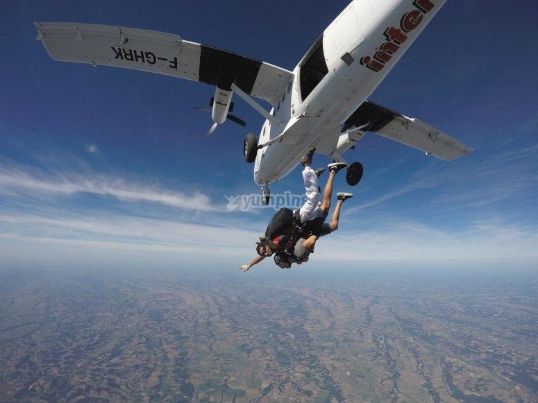 Volando por los aires