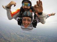 Salto tándem en paracaídas 4000 metros en Pau