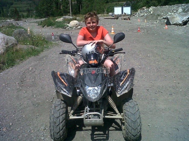 Quad bike activities