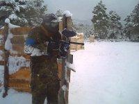 Paintball En nieve