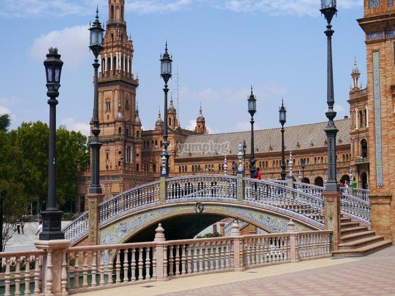 Plaza espana en sevilla