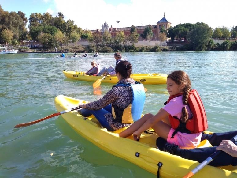 Tour familiar en kayak doble