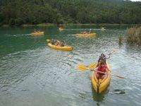 Pratiquez le kayak dans les lagons de Ruidera