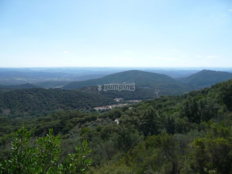 View of Sierra de Aracena