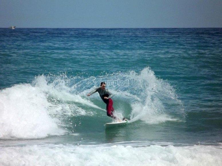 Las olas te esperan