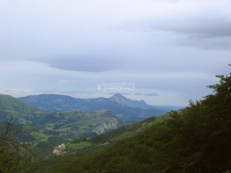 Basque Country landscape