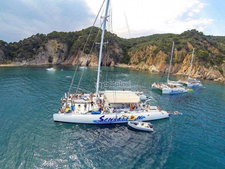 Varios catamaranes