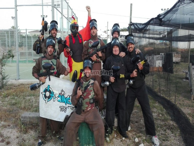The winner team