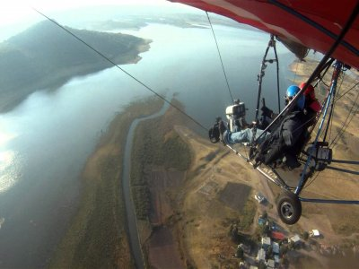 Microlight Flight + Video in Orduña