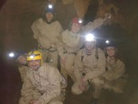 Sul percorso attraverso la grotta
