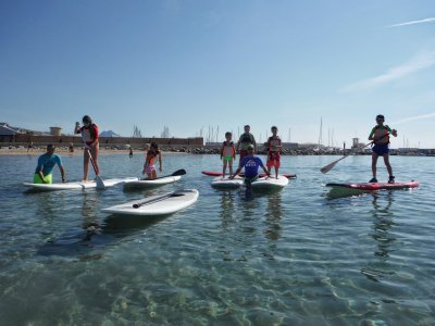 Rental of the SUP Board 3h in El Campello