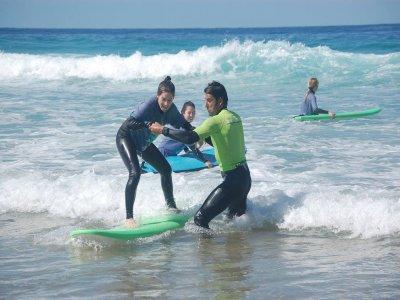 Corso di surf a Fuerteventura 1 giorno