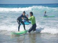 Curso de surf en Fuerteventura 1 día