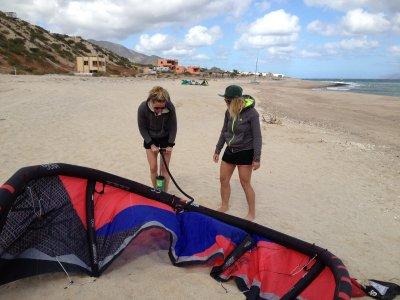 Costa Tropical风筝冲浪的私人课程