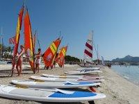 Cursillos de windsurf de iniciación